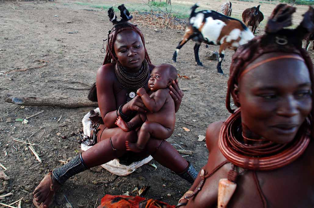 14jpg Namibia, the Himba people.