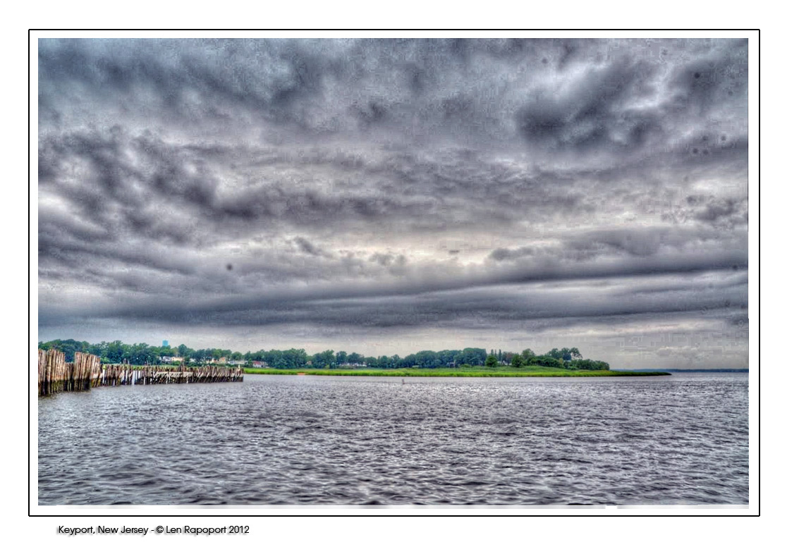 Rain Coming - Keyport, NJ 2012