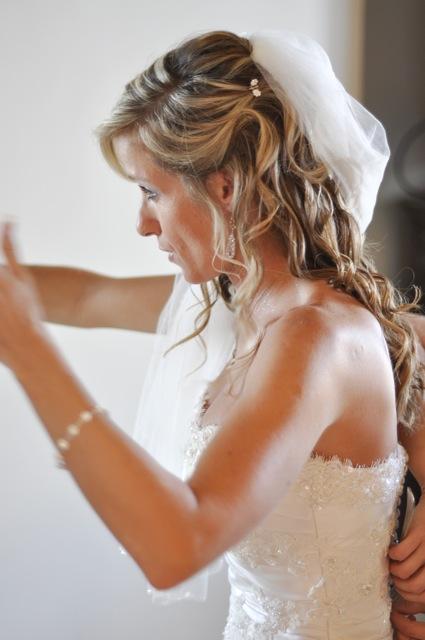 Leona Dressing for Jamaica Wedding