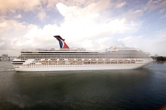bob dickenson carnival cruise line