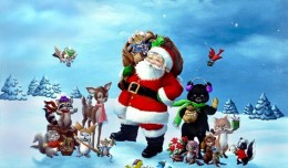 santa-claus-and-friends-wallpaper.jpg 1,024×768 pixels