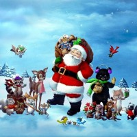 santa-claus-and-friends-wallpaper.jpg 1,024768 pixels