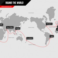VOR 2014-2015 Official Route (210x148mm A5)
