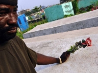 11jpg Liberia, living in a cemetery in the capital, Monrovia.
