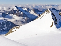 Ascent-A-team-of-British-climbers-approach-the-summit-of-the-Pingne-dArolla-Valais-Switzerland-August-2011