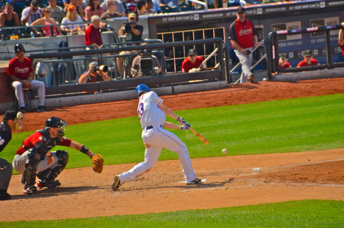 Baseball At Citifield - Queens, NY 2012