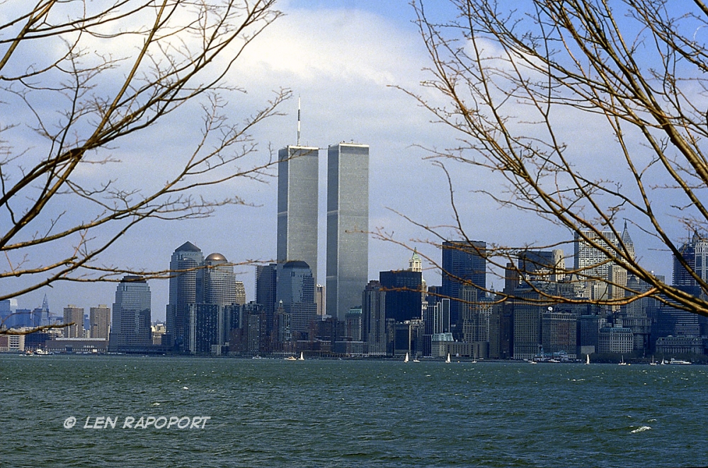 World Trade Center-1980's - From Ellis Island