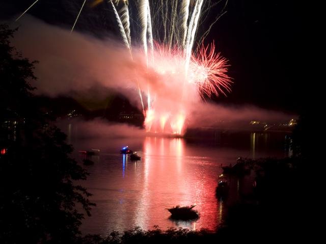Fireworks, Navasink River, New Jersey 2010