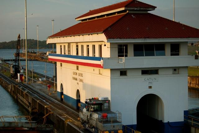 Gatun-Locks, Panama Canal