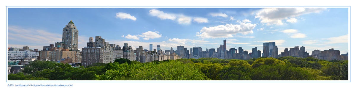 NYC Skyline Panorama - 2012