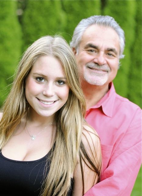 Brother Phil & Daughter Morgan 2009