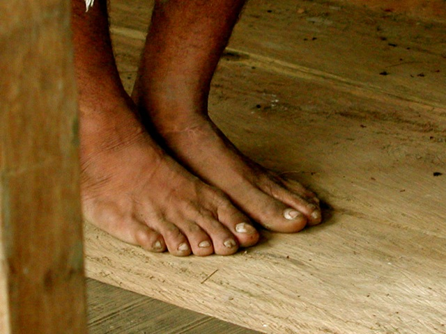 Amazon River Village - Shaman's Feet