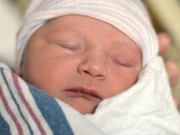 My Grandson Reid - 2 Hours Old 2011