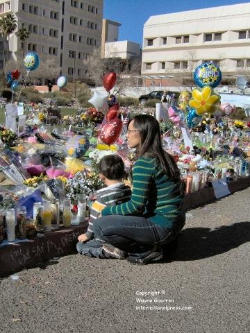 Memorial for Gabby Giffords