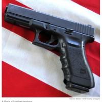 Glock .40 calibre handgun