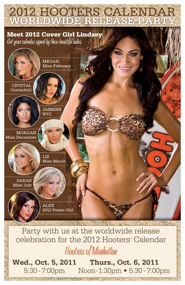 Hooter girl calendar