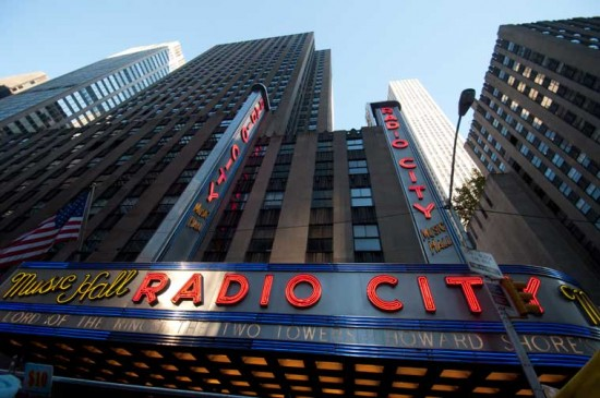 Radio City Music Hall - Click to Enlarge