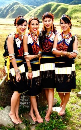 Tetseo Sisters, Nagaland, India