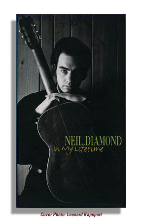 Neil Diamond Album Photo By Len Rapoport Click to Enlarge