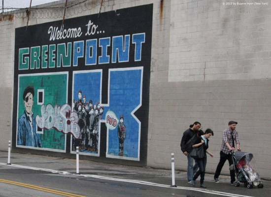 'Greenpoint Welcome' - Art Photography by Eugene Hyon, New York City, 2012