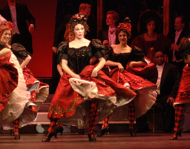 Folies Bergere, MET Production of Lehar's The Merry Widow, 2014-15