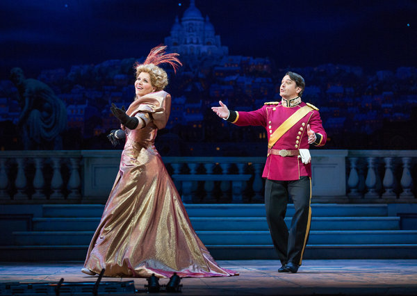 Hanna and Danilo, MET Opera 2014-15 Production, The Merry Widow