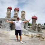 Dennis MacDonald, Artist of Rapa Nui Reef.  Deefrield Beach, Florida, USA.