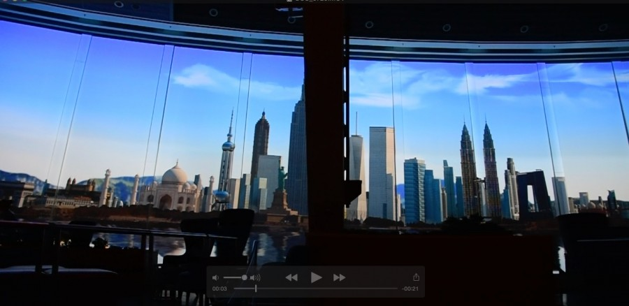 Huge Projections System Changes The Scenes