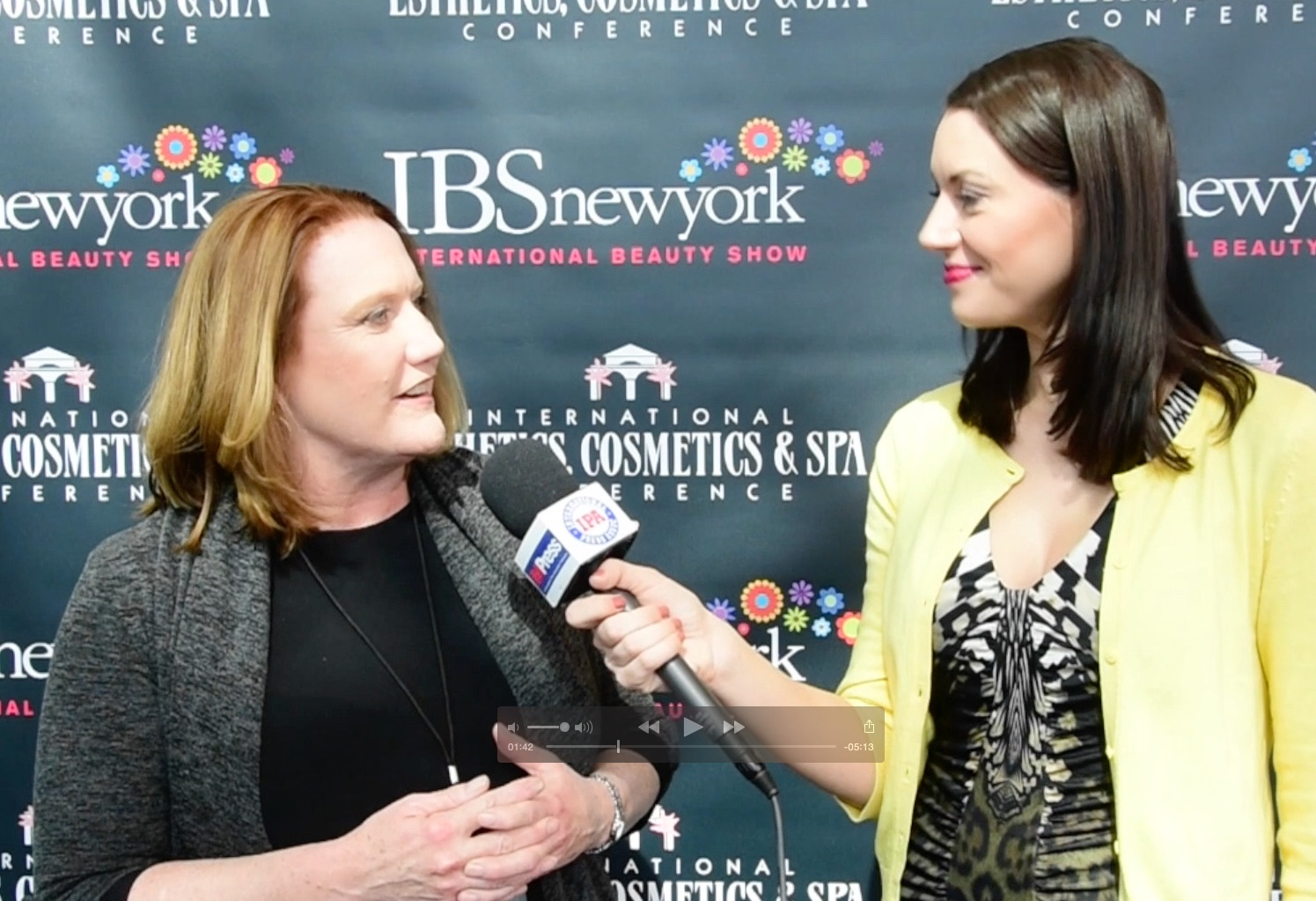 IBS Exec VP - Dana Lupton With Amy Bursor