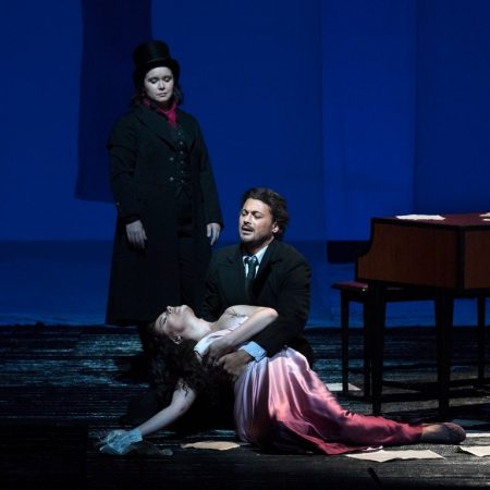 "Hartig, Grigolo and Erraught in the MET Opera Production, 'Les Contes d'Hoffman"" - 2017-18 Season"