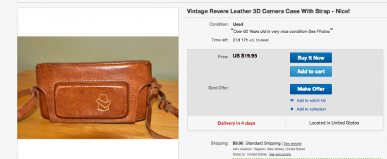 Camera Case on eBay