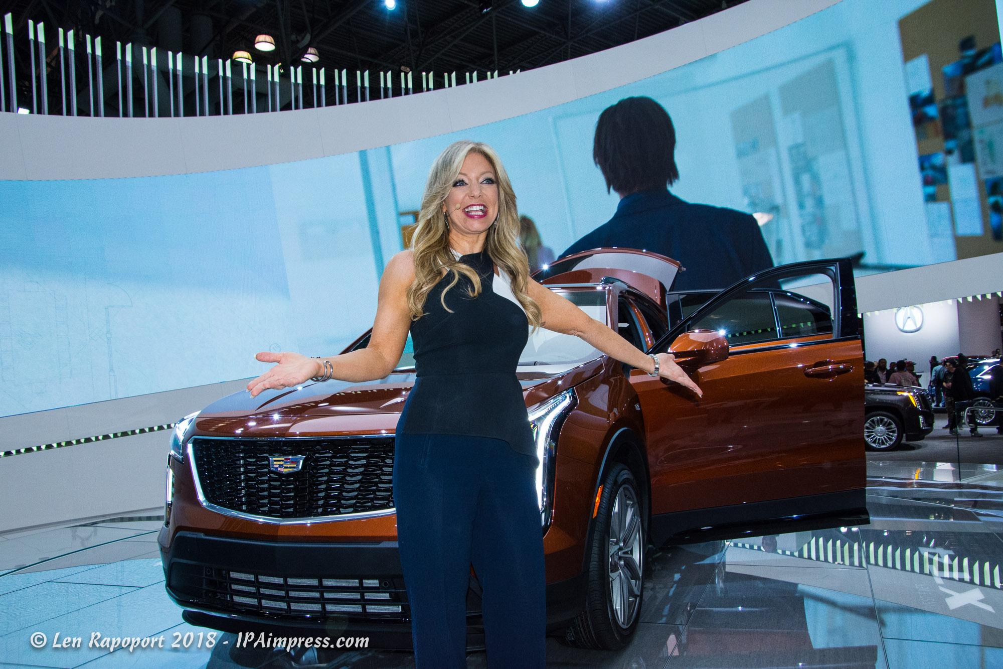 NY Auto Show Spokeperson