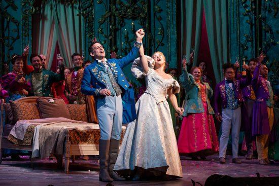 Diana Damrau and Juan Diego Florez, 'La Traviata,' MET Opera, December 15, 2018